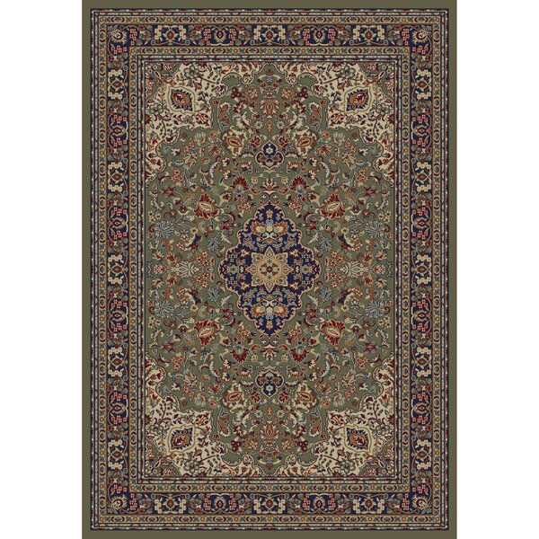 Jewel Heriz Area Rug by Threadbind