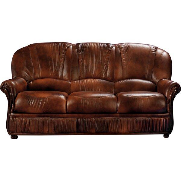 Piercefield Leather Sofa by Red Barrel Studio