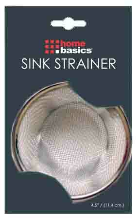 Stainless Steel Basket Strainer (Set of 2) by Home Basics