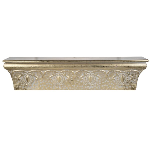Antique Gold Wall Shelf by Alcott Hill