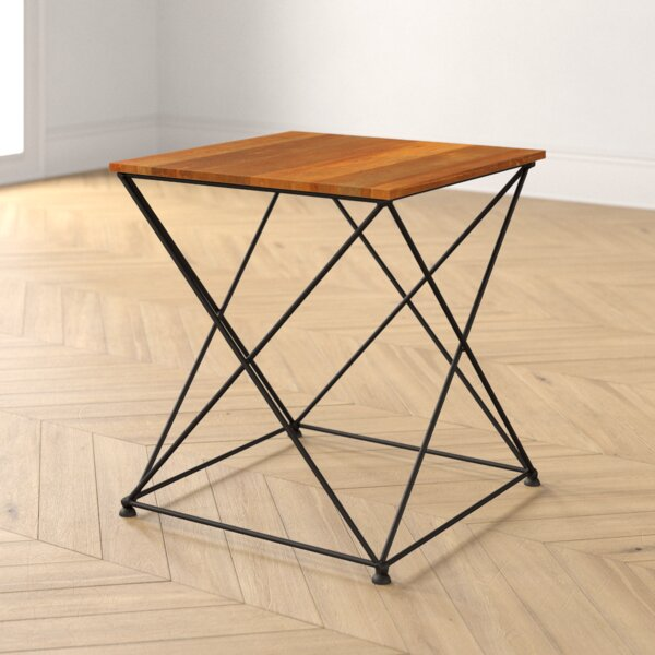 Megan Cros Legs End Table by Foundstone Foundstone