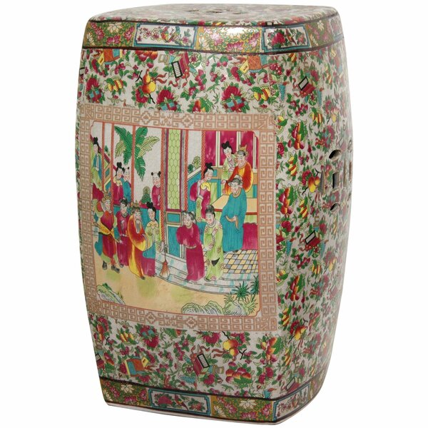 Garden Stool by Oriental Furniture