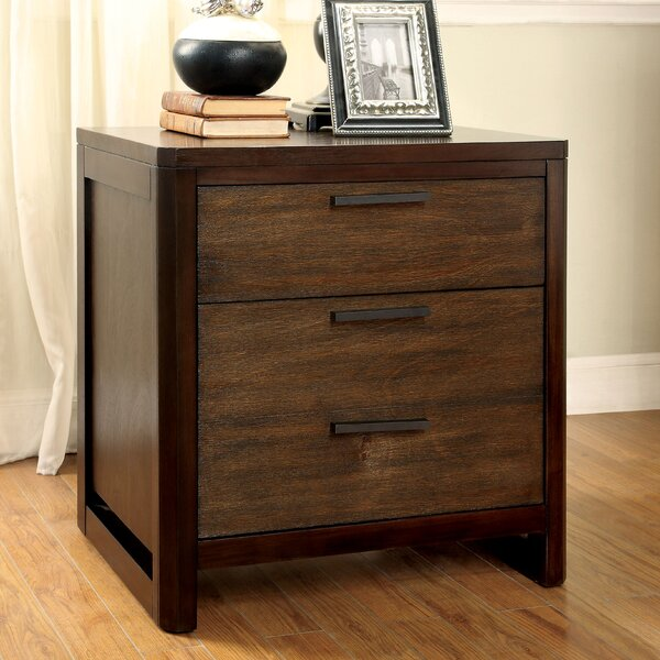 Clanton 2 Drawer Nightstand by Hokku Designs