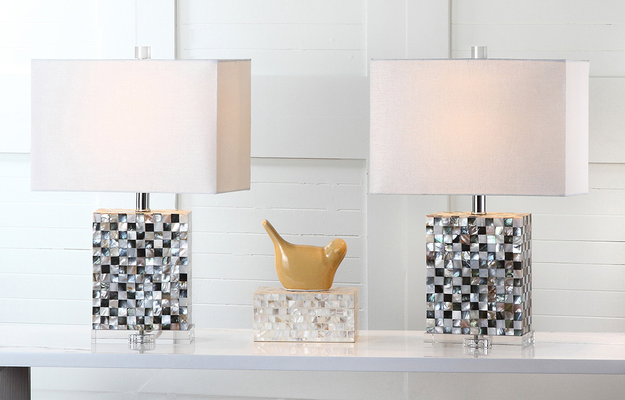 Barstow 21 5 Table Lamp With Rectangular Shade