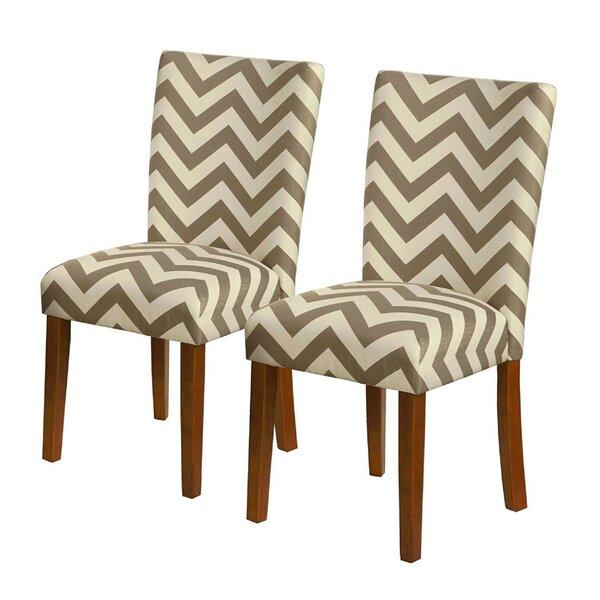 Halliburton Upholstered Dining Chair (Set of 2) by Latitude Run
