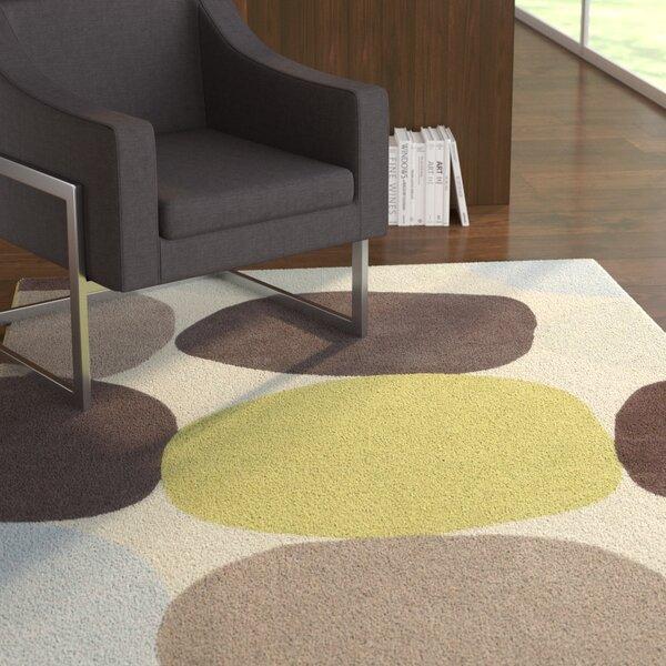 Deveau Ivory Multi Area Rug by Ebern Designs