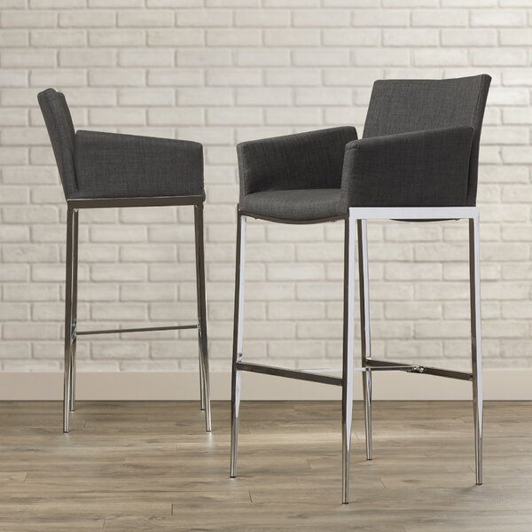 Desdemona 29 Bar Stool (Set of 2) by Mercury Row