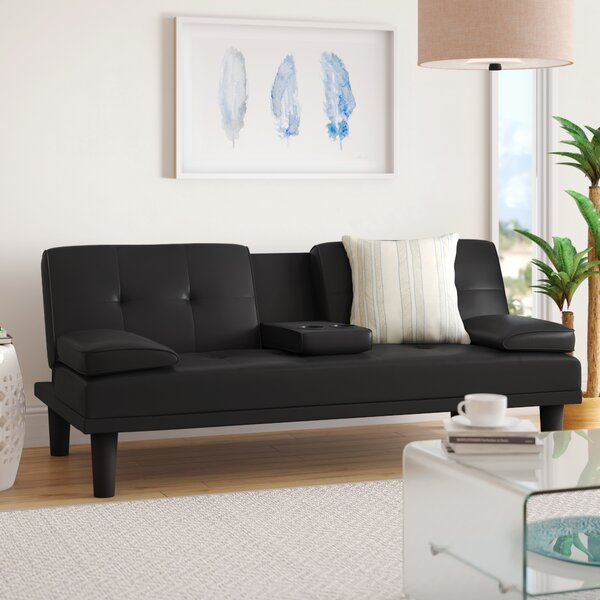 Best #1 Geir Convertible Sofa By Latitude Run Great price