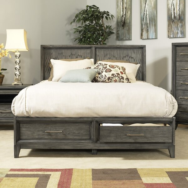 Chelsea Storage Platform Bed by Home Image