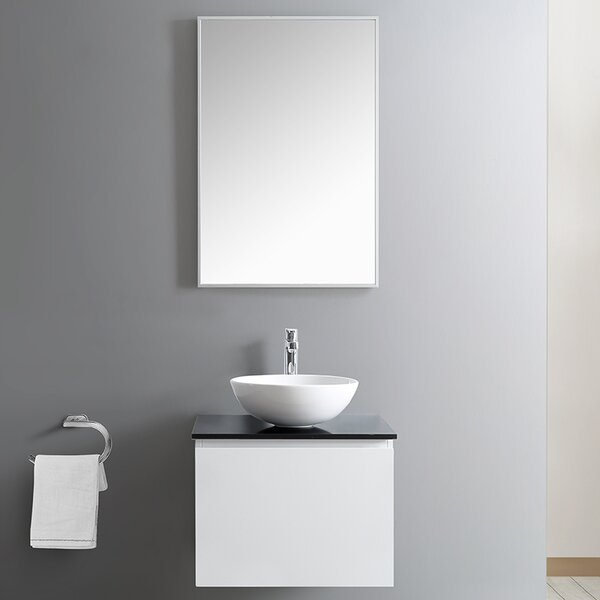 Ferrara 24 Single Bathroom Vanity Set with Mirror by Vinnova