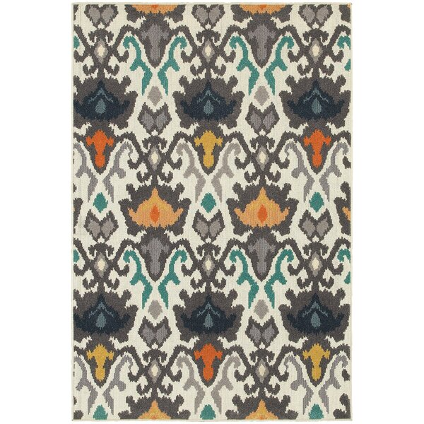 Brookline Ivory Indoor Area Rug by Threadbind
