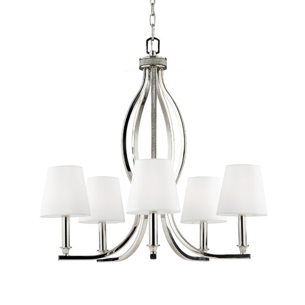 Havilland 5-Light Shaded Classic / Traditional Chandelier by House of Hampton House of Hampton