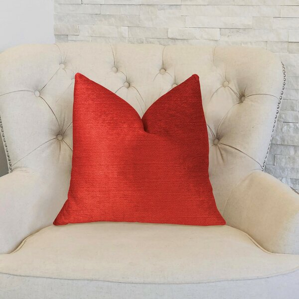 Cherry Love Luxury Throw Pillow by Plutus Brands