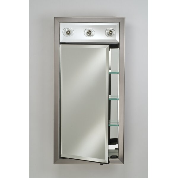 Signature 24 x 34 Recessed Medicine Cabinet with Lighting by Afina