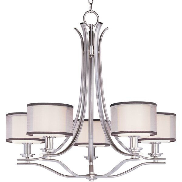 Houseknecht 5-Light Shaded Empire Chandelier by Darby Home Co Darby Home Co