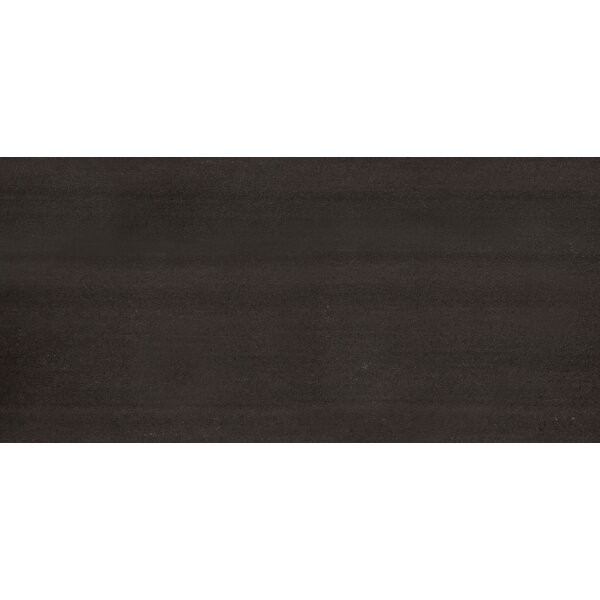 Perspective 12 x 24 Porcelain Fabric Look/Field Tile in Black by Emser Tile