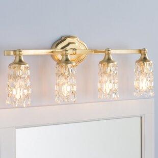 Affordable Destrey Traditional 4-Light Vanity Light By Willa Arlo Interiors