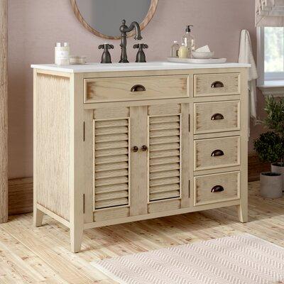 Ayala 42 Single Bathroom Vanity Set Lark Manor Base Finish ...