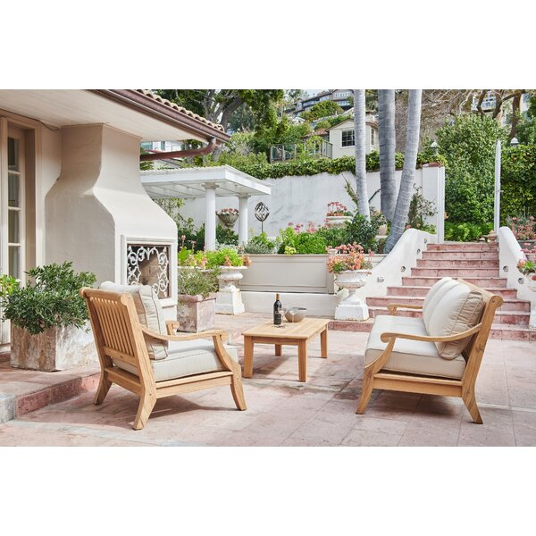 Khari Sunbrella Seating Group with Cushions by Darby Home Co