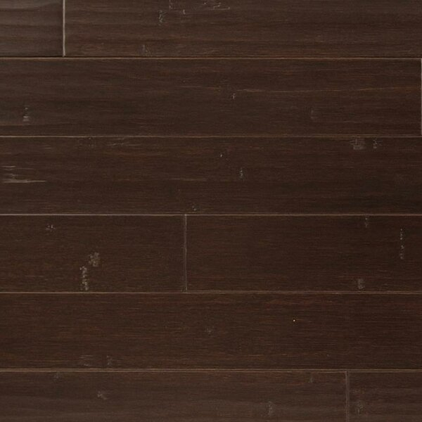 3-3/4 Solid Bamboo  Flooring in Coffee by Easoon USA