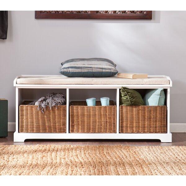 Lindell Storage Bench by Beachcrest Home Beachcrest Home