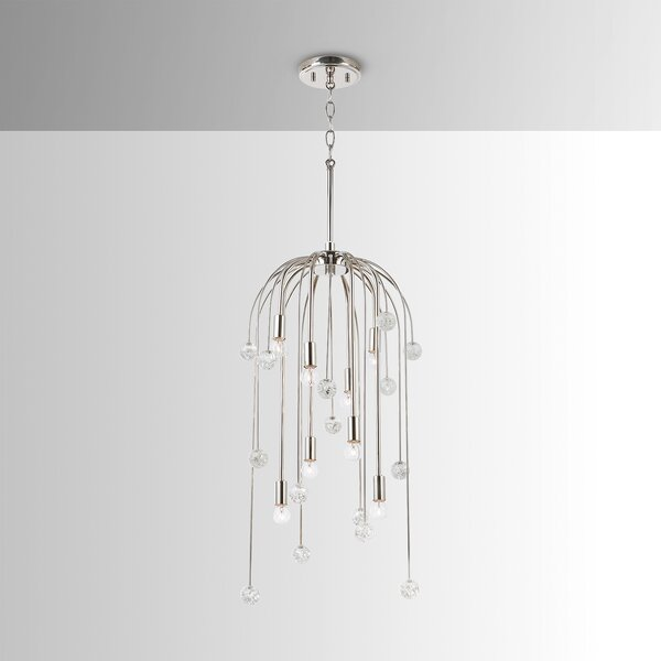 Pascual 8-Light Crystal Chandelier by Mercer41