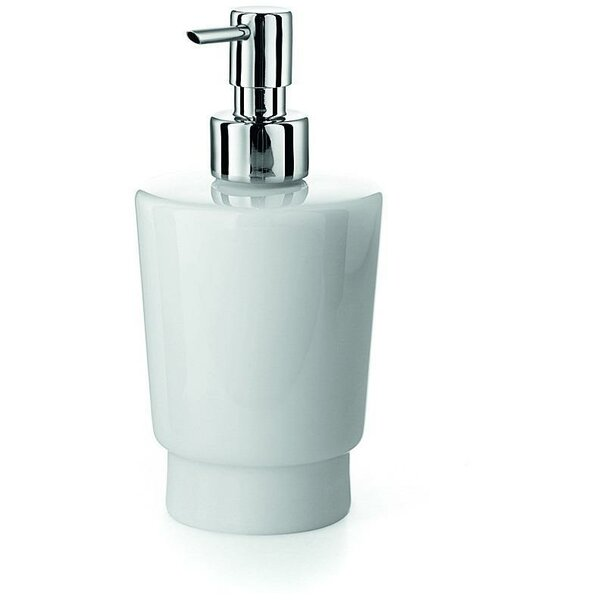 South Lamar Porcelain Pump Soap & Lotion Dispenser by Orren Ellis