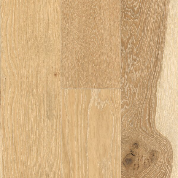 Vintage Harbor 7 Engineered Oak Hardwood Flooring in Sand White by Mohawk Flooring