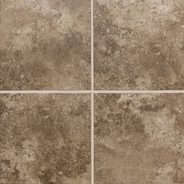 Remington 18 x 18 Ceramic Tile in Truffle Field by Itona Tile