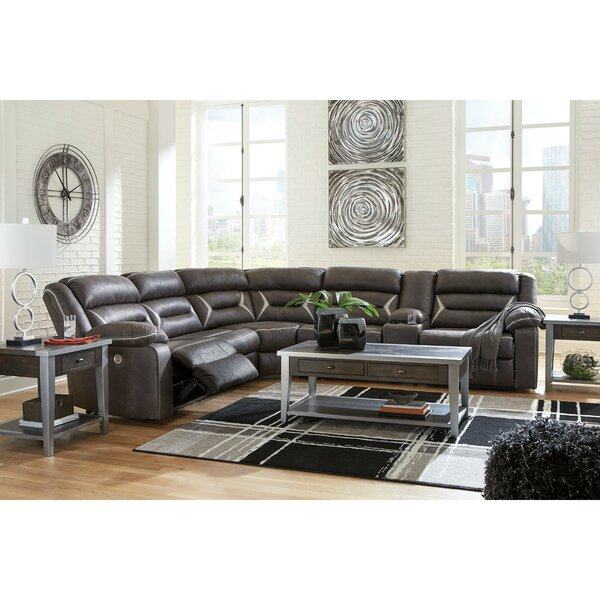 Planas Symmetrical Reclining Sectional By Red Barrel Studio