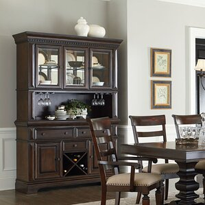 Parthena Lighted China Cabinet by Darby Home Co