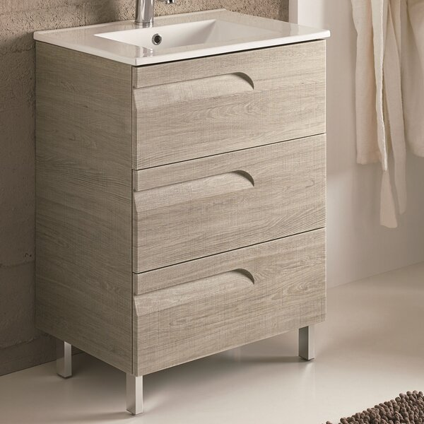 Oberlin 24 Single Bathroom Vanity Set by Brayden Studio