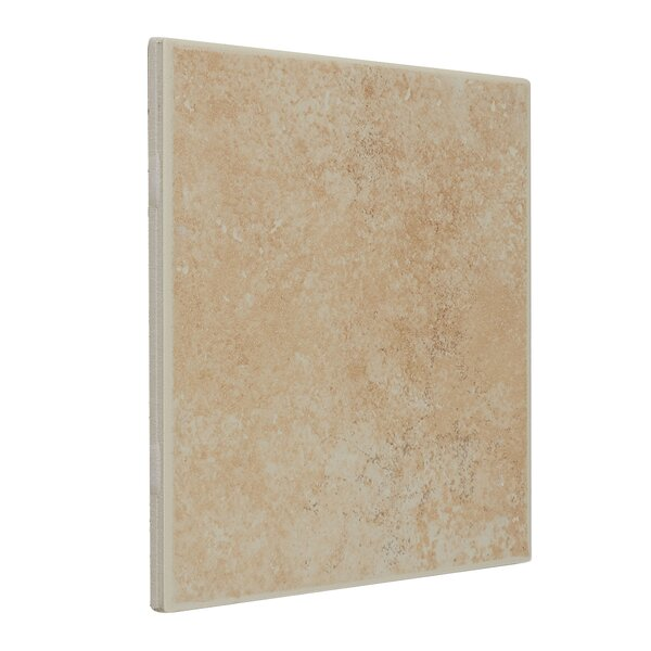 Jacobson 6 x 6 Ceramic Field Tile in Sand by Itona Tile