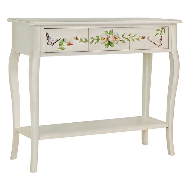 Read Reviews Sanger Hand-Painted Console Table