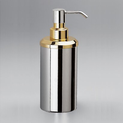 Contemporary Round Countertop Brass Soap Dispenser by Windisch by Nameeks