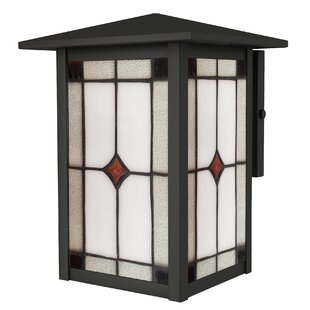 Best Price Arthur 1-Light Outdoor Sconce By Loon Peak