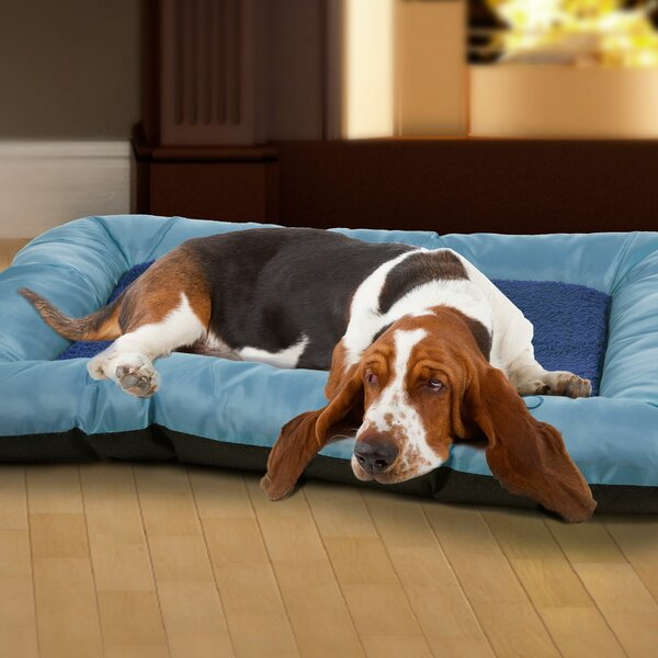 Burke Plush Cozy Pet Crate Bolster by Tucker Murph