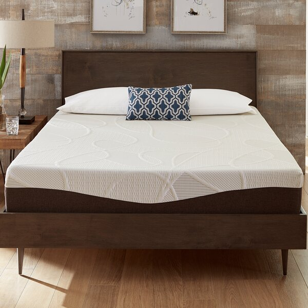 10 Firm Gel Memory Foam Mattress by Alwyn Home