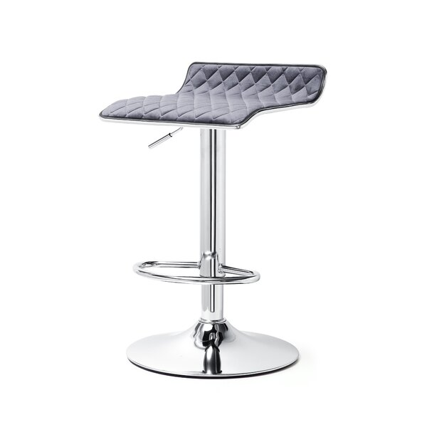 Adjustable Height Swivel Bar Stool (Set of 2) by Meelano