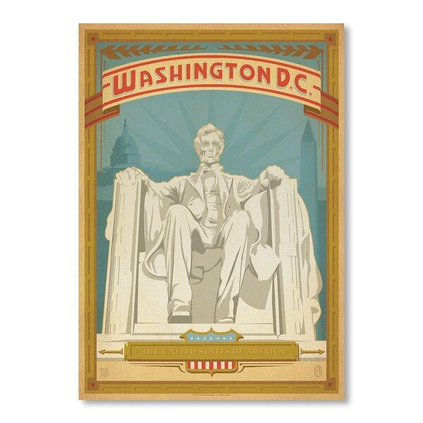 Washington DC Vintage Advertisement by East Urban Home
