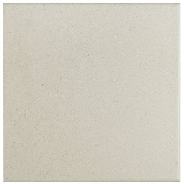 Heather 5.875 x 5.875 Porcelain Field Tile in White by EliteTile