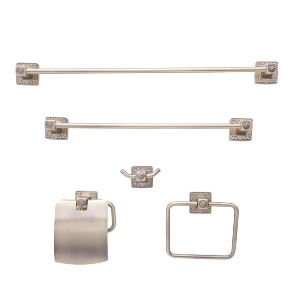 Reno Series Euro 5 Piece Bathroom Hardware Set by Dyconn Faucet