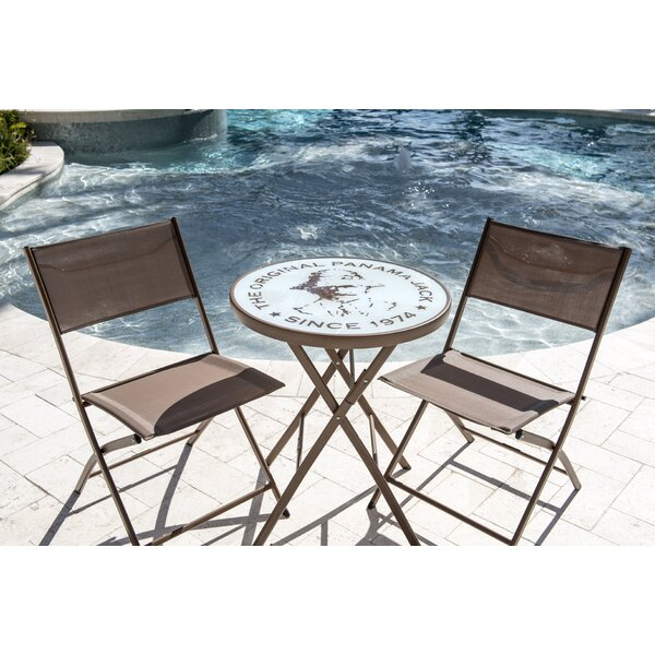 Café Folding Bistro Set By Panama Jack Outdoor