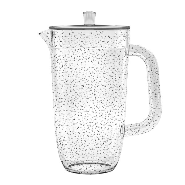 Fontaine Bubble 100 oz. Pitcher by Highland Dunes