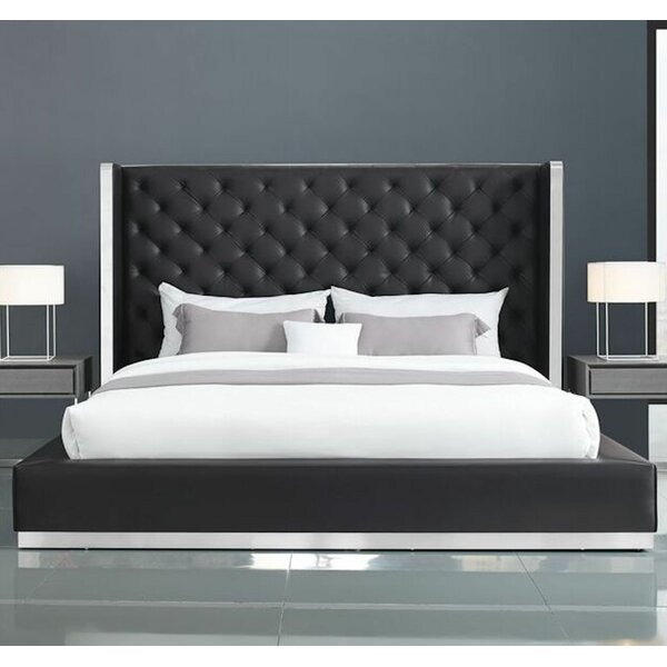 Aesara Upholstered Platform Bed by Orren Ellis