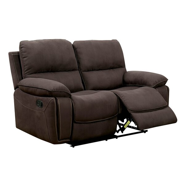 Hellwig Contemporary Love Seat Manual Wall Hugger Recliner