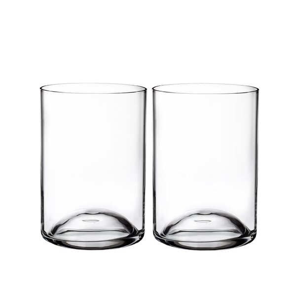 Elegance Double Old Fashion 6 oz. Crystal Cocktail Glasses (Set of 2) by Waterford