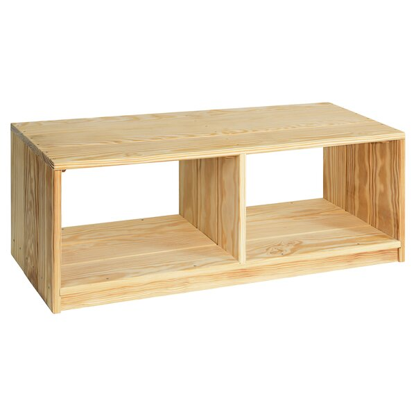 Brundage Outdoor Solid Wood Storage Bench by Rebrilliant