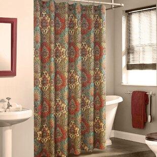 Fantine Linen Shower Curtain