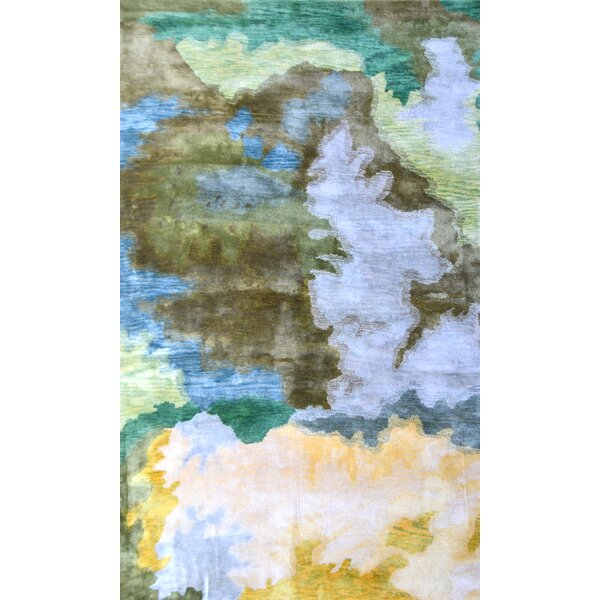 Handmade Multi-colored Area Rug by Park Avenue Rugs